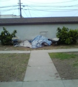 OB Saratoga TenantAbuse trash
