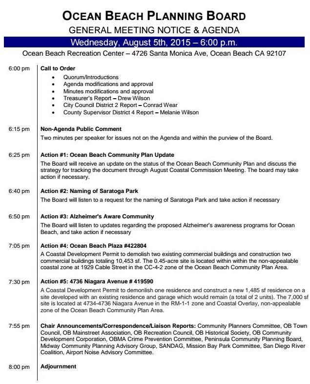 OBPB Agenda 8-5-15