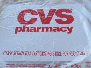Plastic bag cvs - bh