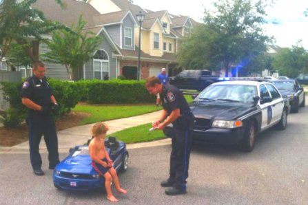 traffic ticket kid