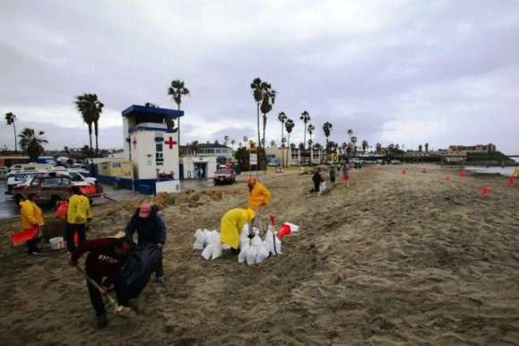 OB Flooded 1-6-16 Byon UT sand