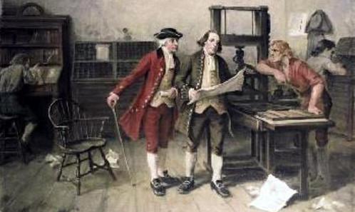 Ben Franklin press