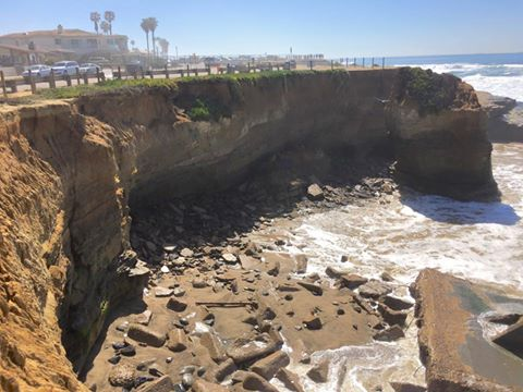 sunset cliffs collapse 2-24-16 mt