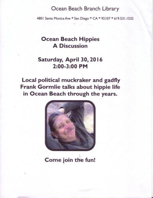 FG Hippie talk poster 4-30-16