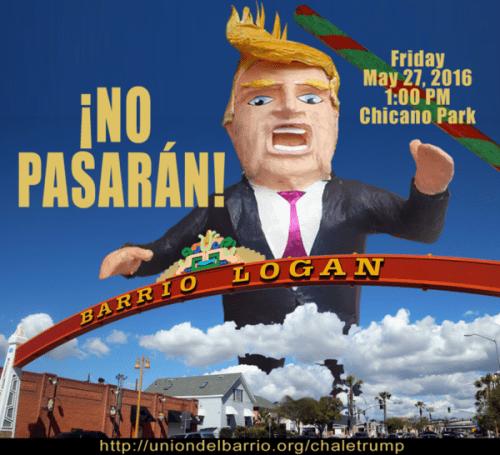 Trump union del Barrio graphic