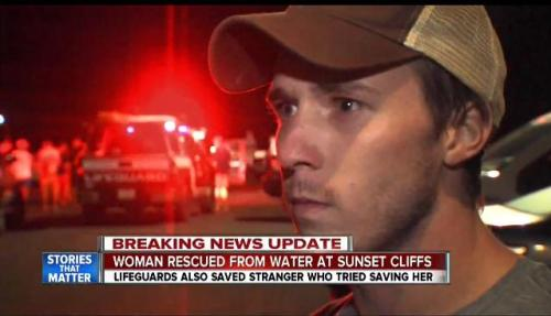 OB cliff rescur Sean