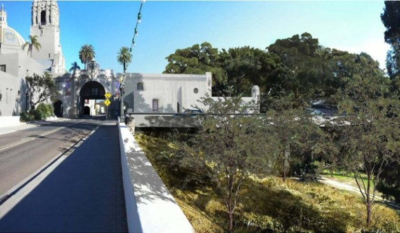 Balboa Park Cab bridge bypass
