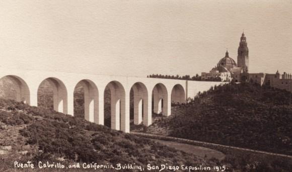 Balboa Park Cabrillo Bridg 1915