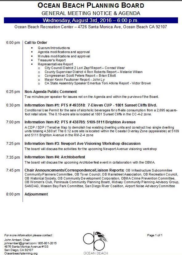 OBPB agenda 8-3-16