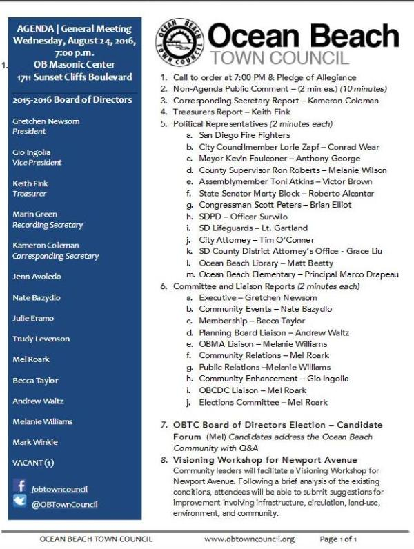 OBTC agenda 8-24-16