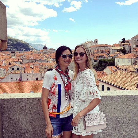 https://www.instagram.com/p/BJF-4tLgEXJ/?hl=en Screengrab of Ivanka Trump's Instagram of her sightseeing with a friend 8/14/16 Source: Ivanka Trump/Instagram