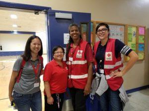 OB Red Cross team
