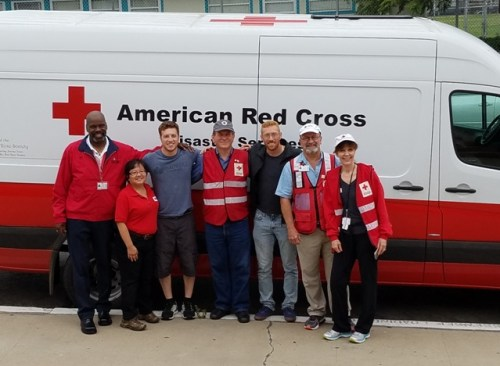 OB Red cross team n obceans