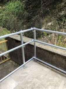 Barandilla de accesibilidad en Pío Baroja de San Sebastián