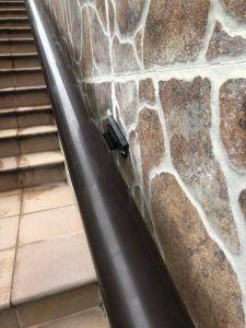 reparación de los elementos mas dañados del edificio