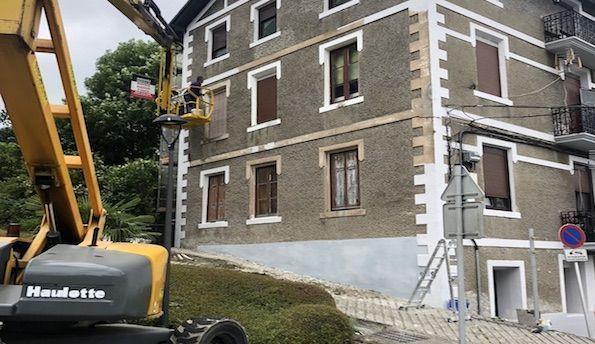 Rehabilitación de fachadas en Astigarraga