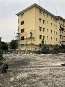 rehabilitación de fachadas completa con SATE