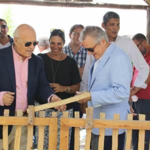 Rafael López, delegado de Igualdad, Salud y Políticas Sociales, visita el Poblado Tartésico de Obras Cristianas