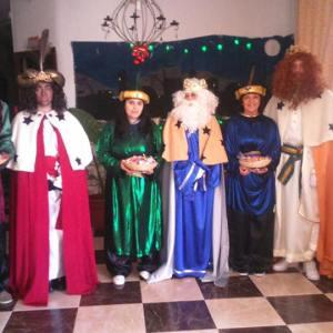 Los trabajadores de la Asociación de Obras Cristianas han sido los otros Reyes Magos