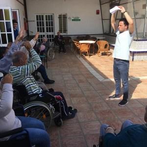 Beneficios de la fisioterapia en la Residencia de Mayores Cristo Roto
