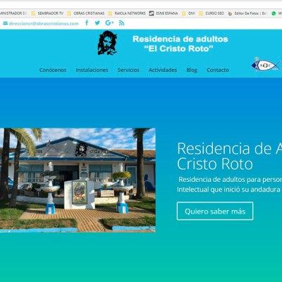 La Asociación de Obras Cristianas de Gibraleón estrena nueva página web sobre la Residencia de Adultos 'El Cristo Roto'