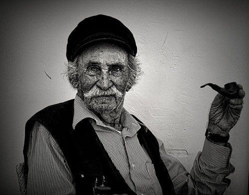 pescador griego