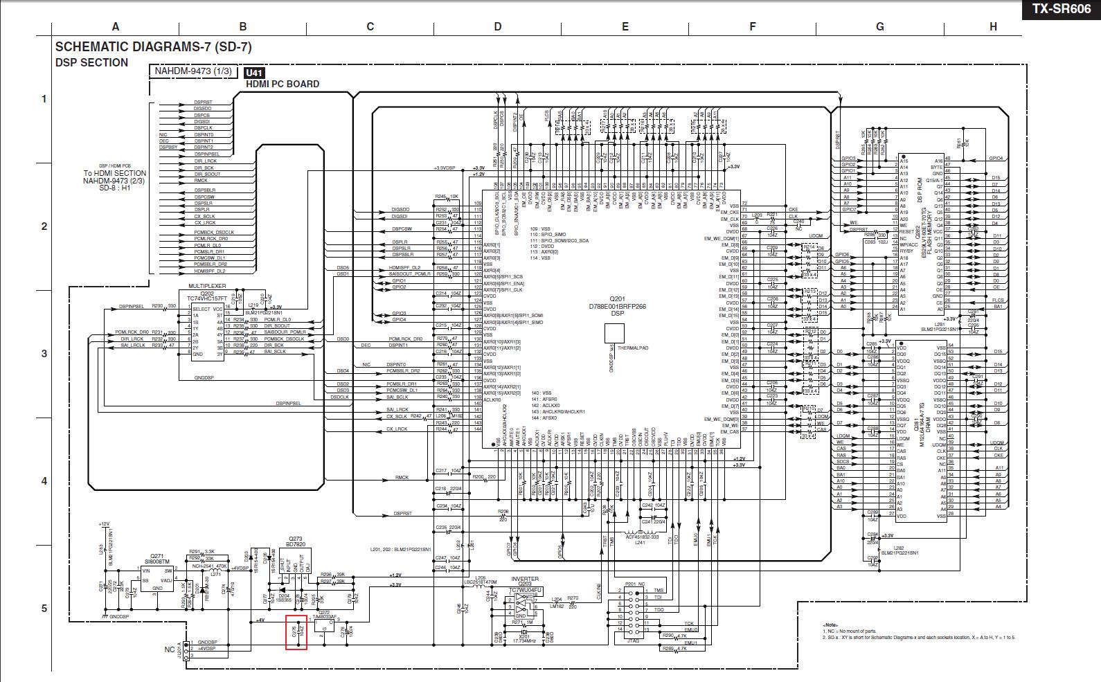 Onkyo Tx Sv7m | Wiring Diagram Database