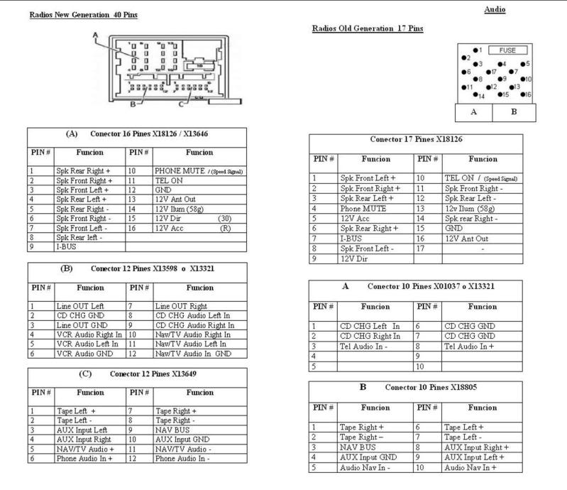 E46 Radio Wiring Diagram Dolgularrhdolgular: Bmw E46 Cd Changer Radio Wiring Diagram At Elf-jo.com