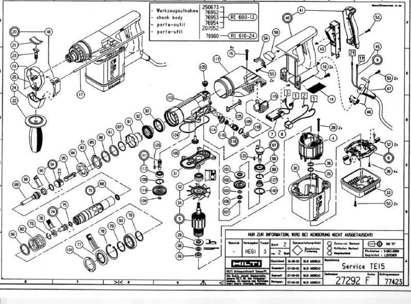 Hilti Dsh 700 Parts Diagram Engine Wiring Diagram Images