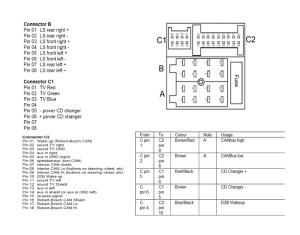 Comand 2,5DX  Zmieniacz MC3198 jak podłączyć  elektrodapl