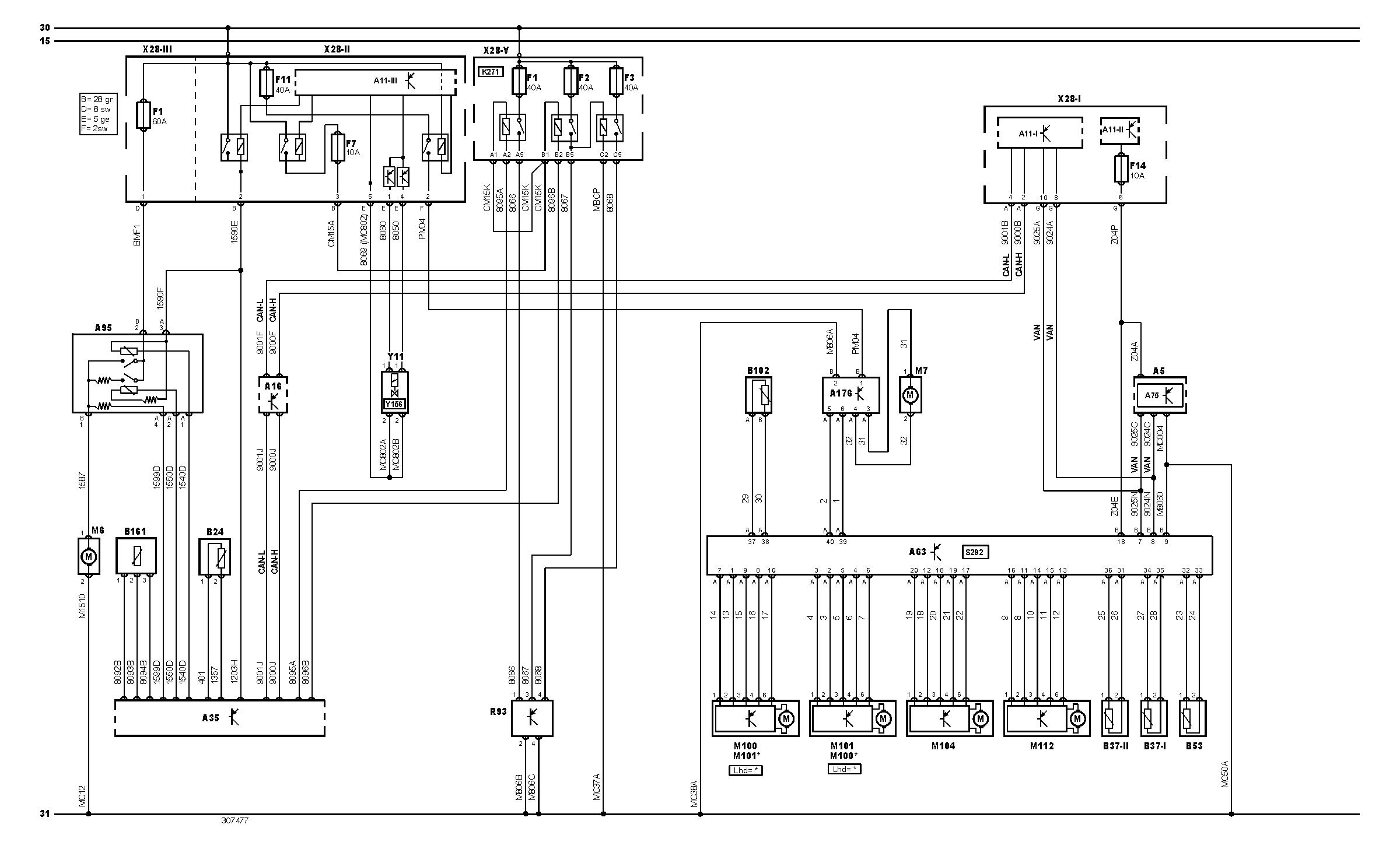 Peugeot 207 Schemat Elektryczny Climatronika