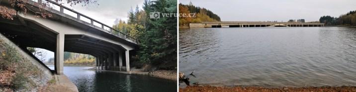 Zatopené mosty u D1 dnes