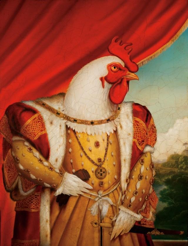 Chicken King Tim Obrien Illustration