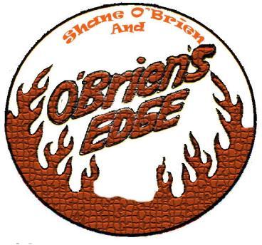 """""""Shane O'Brien and O'Briens Edge Band Logo"""""""