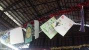 Trobada al Mercat de l'Abaceria: Escola L'Univers, Escola Gravi, Escola Sadako i INS Vila de Gràcia