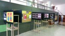 INS Vila de Gràcia - Exposició Funcació Solidaritat UB
