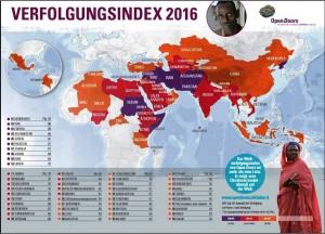 Weltverfolgungsindex 2016