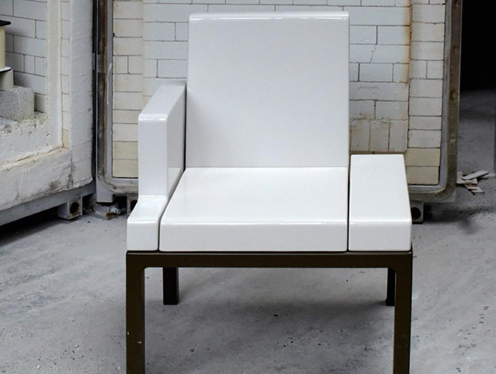"""Le fauteuil """"Beyrouth"""" par Gérard Borde et Marc Aurel"""