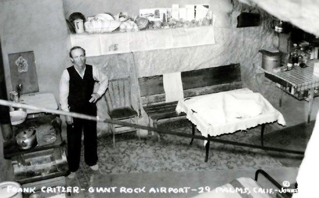 Frank Critzer - Giant Rock - 1940s