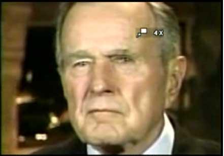 George H W Bush - reptoid