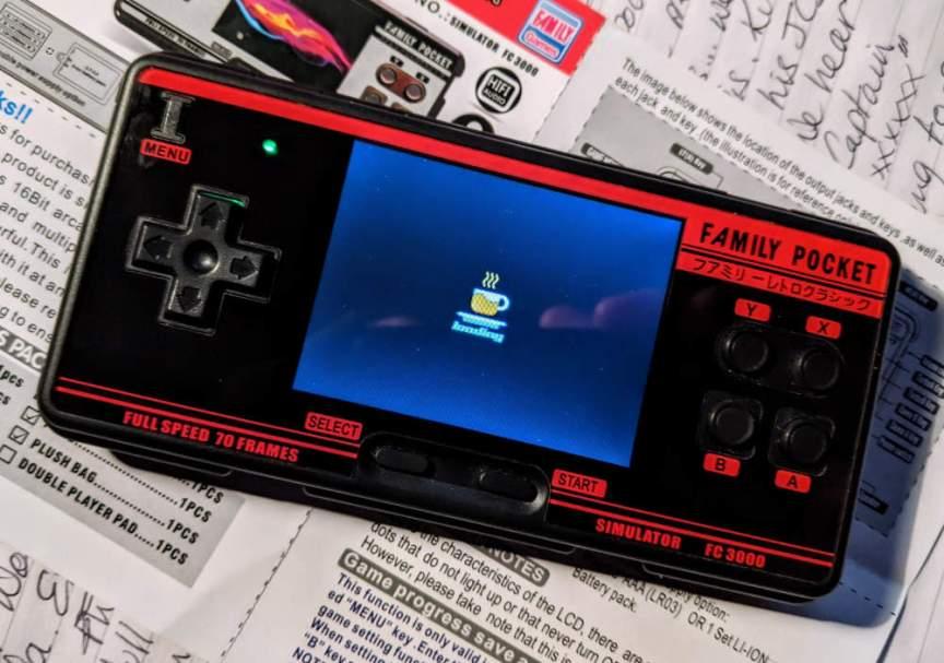 Family Pocket FC3000 Loading Screen