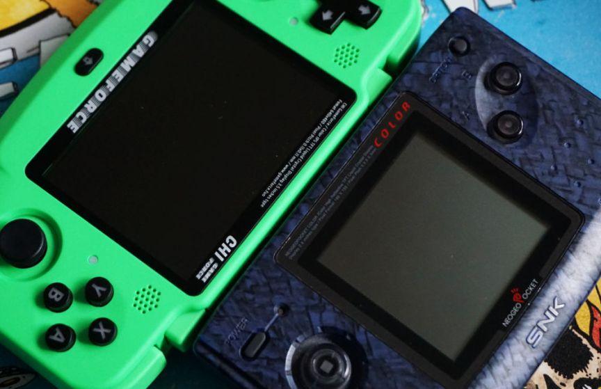 Neo Geo Pocket Color vs GameForce Handheld