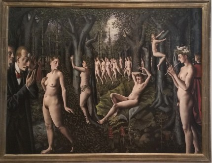 Paul Delvaux - The Awakening of the Forest