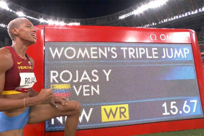 Yulimar Rojas gana el Oro en jornada histórica para Venezuela 1