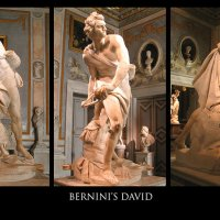 •	El David, de Bernini.