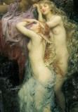 Sea melodies (detail) 1904 - by Herbert James Draper