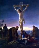 La Crucifixion de Jesús de Carl Heinrich Bloch
