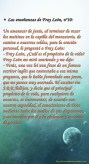 Las enseñanzas de Fray León nº10