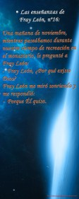 Las enseñanzas de Fray León nº16