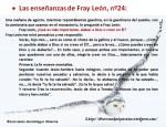Las enseñanzas de Fray León nº24